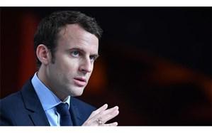 ماکرون: فرانسه در حال مقابله با برنامه موشکی ایران است