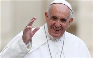 توئیت پاپ قبل از عزیمت به عراق