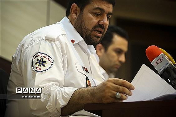نشست خبری اورژانس تهران