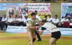 برگزاری مسابقات کشتی با چوخه قهرمانی کشور در  ملارد