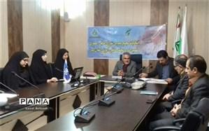انتخابات  شورای دانش آموزی و نهمین دوره مجلس دانش آموزی استان البرز برگزار شد