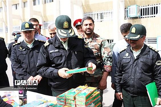 نشست خبری سردار گودرزی فرمانده انتظامی استان فارس