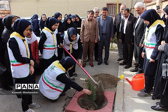 مراسم نمادین استانی روز درخت کاری در ارومیه