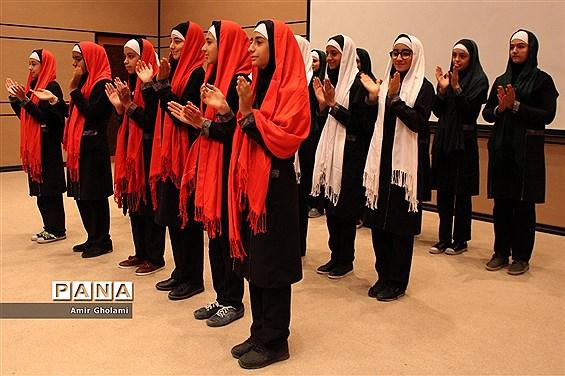 برگزاری مسابقات استانی سرود تلفیقی در چهاردانگه