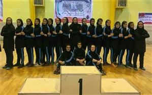 قهرمانی تیم هندبال نوجوانان دختر تبریز در مسابقات مناطق شمال کشور