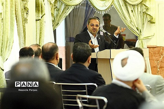 نشست صمیمی معاون پرورشی و فرهنگی وزارت آموزش و پرورش با کارکنان حوزه ستادی معاونت