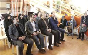 حضور مدیرکل آموزش و پرورش استان در خانه سالمندان یاس سفید همدان