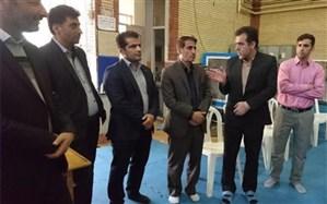 رونمایی از تجهیزات جدید سالن ورزشی نشاط ناحیه دو شهر کرمانشاه