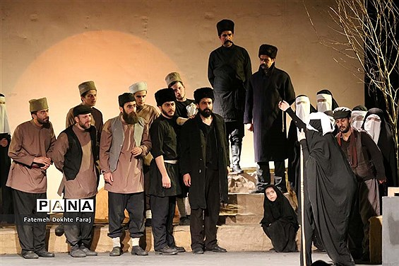 اجرای نمایش ستارخان در تبریز
