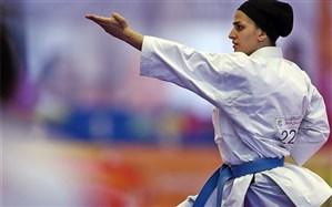 لیگ جهانی کاراته؛ دبل نگین باقری مقابل اروپاییها