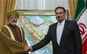 شمخانی  با وزیر مشاور در امورخارجی سلطنت عمان دیدار و گفت و گو می کند