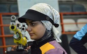 تیراندازی قهرمانی آسیا؛ دومین مدال ایران باز هم به زنان رسید