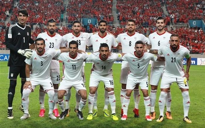 تیم ملی فوتبال ایران 2017 تیمی