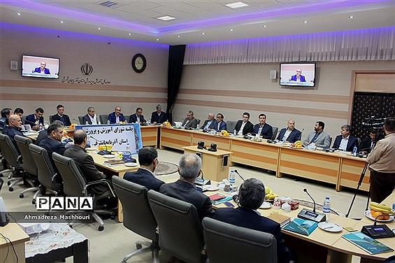 جلسه شورای آموزش و پرورش آذربایجان شرقی