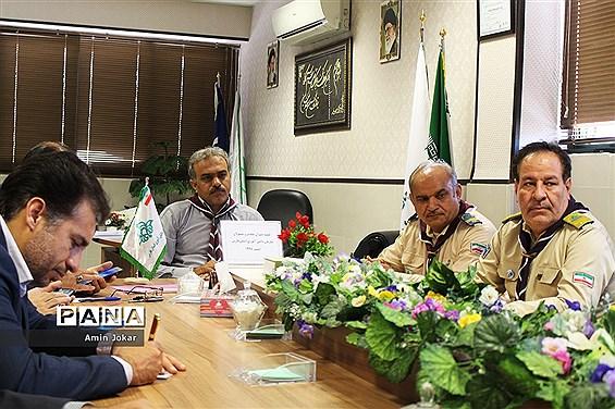 جلسه دبیران مجامع و مسئولان سازمان دانش آموزی نواحی چهارگانه شیراز