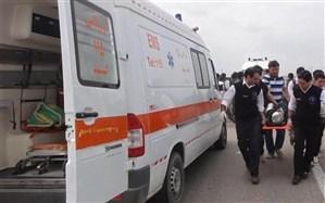 مراسم پیادهروی جاماندگان اربعین در تهران ۶ مصدوم داشت