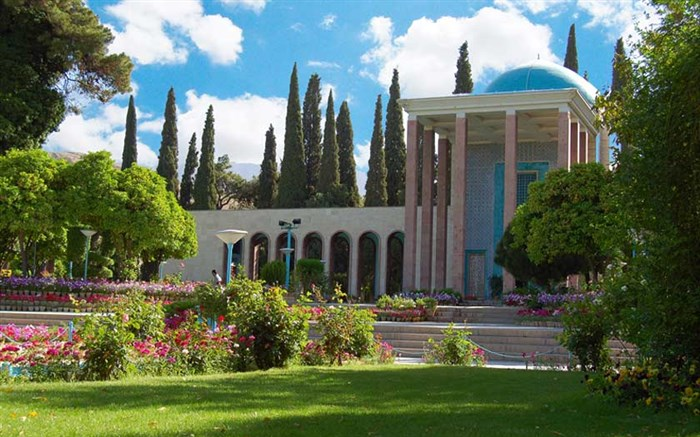 آرامگاه سعدی گردشگری فارس