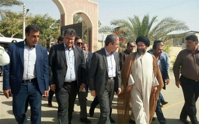 بازدید استاندار بوشهر از ستاد اسکان دیلم  97