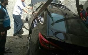 انحراف سوناتا در جاده هراز جان یک نفر را گرفت