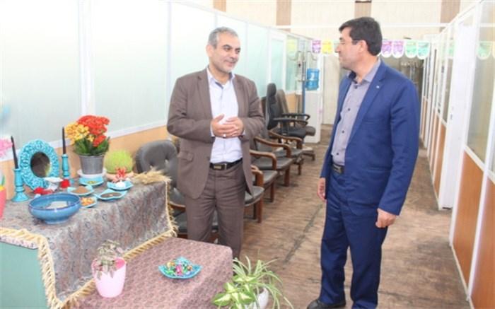 بازدید  در اولین روز کاری عید نوروز