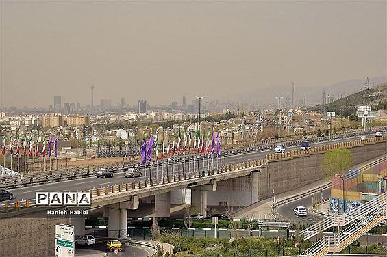 خیابان های تهران در روزهای نوروز