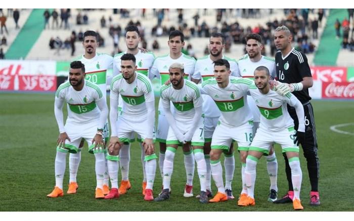 تیم ملی فوتبال الجزایر 2018