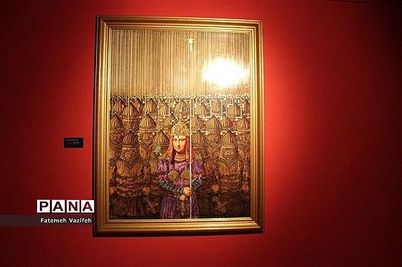 نمایشگاه آثار علی اکبر صادقی در موزه هنرهای معاصر تهران