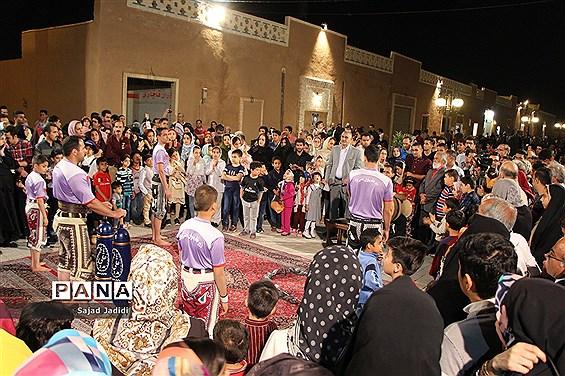 افتتاح گذر فرهنگ و هنر یزد