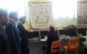 بازدید از طرح اعتکاف علمی دانش آموزان دشتستان