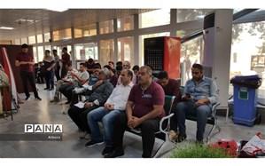 مراجعه بیش از ۱۲۰۰ نفر به مراکز انتقال خون استان البرز در ایام نوروز