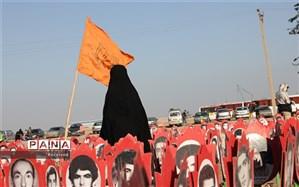 زائران راهیان نور از سه منطقه عملیاتی خوزستان بازدید میکنند