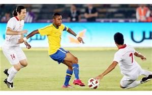 دیدار دوستانه تیم ملی ایران و برزیل قطعی شد
