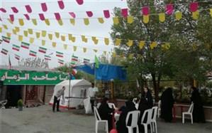 برپایی نمایشگاه مهدویت و خیمه انتظار در کهک