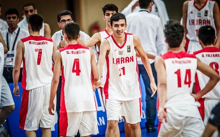 بسکتبال/ملی نوجوانان ایران 2018