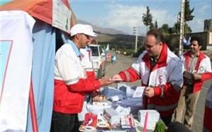 امدادرسانی به ۵۸۹۸ نفر در مرزهای مهران، شلمچه، چذابه و میرجاوه