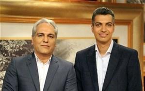 سوپرایز جشن تولد ۵۰ سالگی مهران مدیری با حضور عادل فردوسی پور