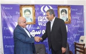 مدیر کل آموزش و پرورش استان بوشهر از خبرگزاری  پانا  بازدید کرد