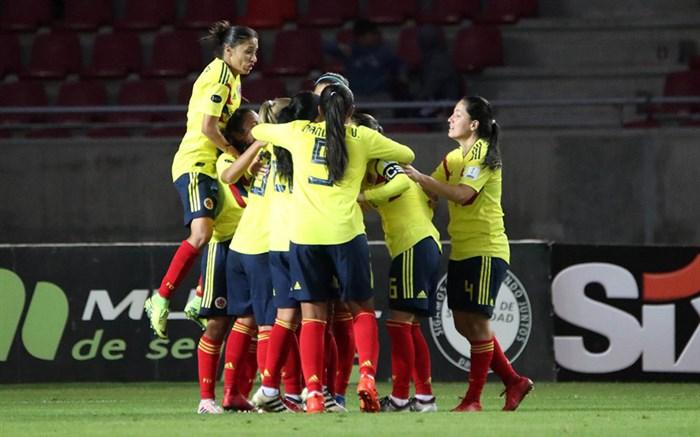 فوتبال ملی زنان کلمبیا 2018