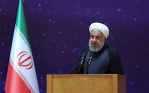 روحانی: خوشحالم که یک موجود مزاحم از برجام خارج شده است/ چند هفته برای آغاز غنیسازی صنعتی صبر میکنیم