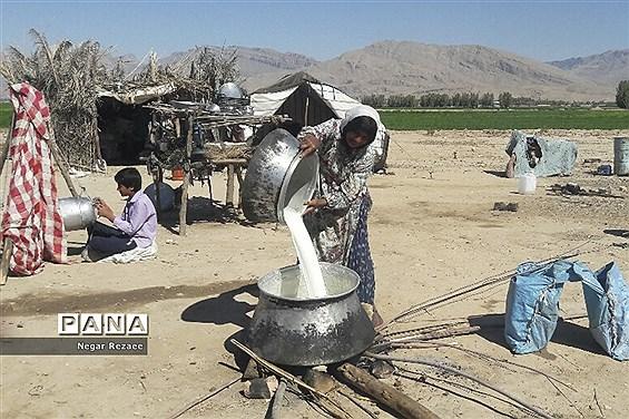 زندگی عشایر در حومه داراب فارس