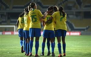 کوپا آمریکا زنان؛برزیل با جشنواره گل به مرحله نهایی رسید