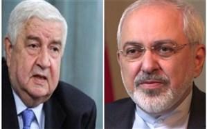 ظریف با وزیر امور خارجه سوریه تلفنی گفت و گو کرد