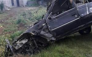 مرگ سه زن بر اثر واژگونی خودرو در منطقه چمستان