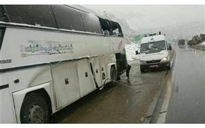3 کشته و 14 مصدوم در واژگونی اتوبوس در یزد