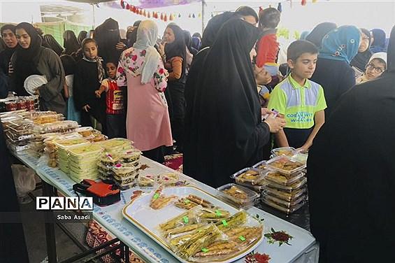 جشنواره غذای محلی در گله دار فارس