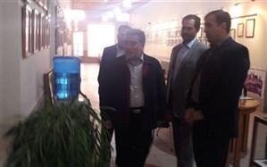 بازدید مدیرکل امورشاهد و ایثارگران وزارت آموزش و پرورش از موزه آموزش و پرورش استان کرمانشاه