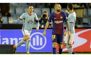 لالیگا؛  بارسلونا بدون ستارهها زور پیروزی نداشت