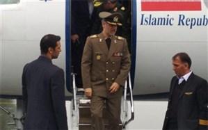 وزیر دفاع ایران به عراق رفت