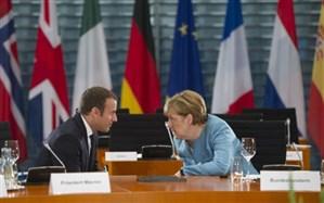 مرکل: آلمان، فرانسه و انگلیس  تضمینکنندگان توافق هستهای هستند