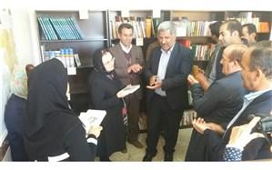 کتابخانه دبیرستان شبانه روزی دخترانه کوثر روستای سبدلو بانه تجهیز شد